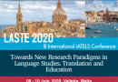 LASTE 2020 – III International Conference on Language Studies, Translation and Education