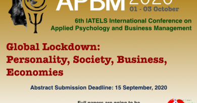APBM 2020 – Applied Psychology and Business Management